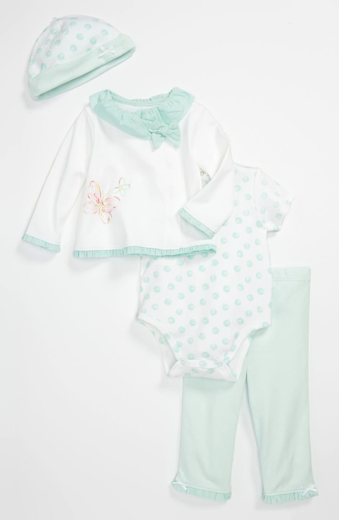 Alternate Image 1 Selected - Little Me 'Take Me Home' Four Piece Set (Baby)