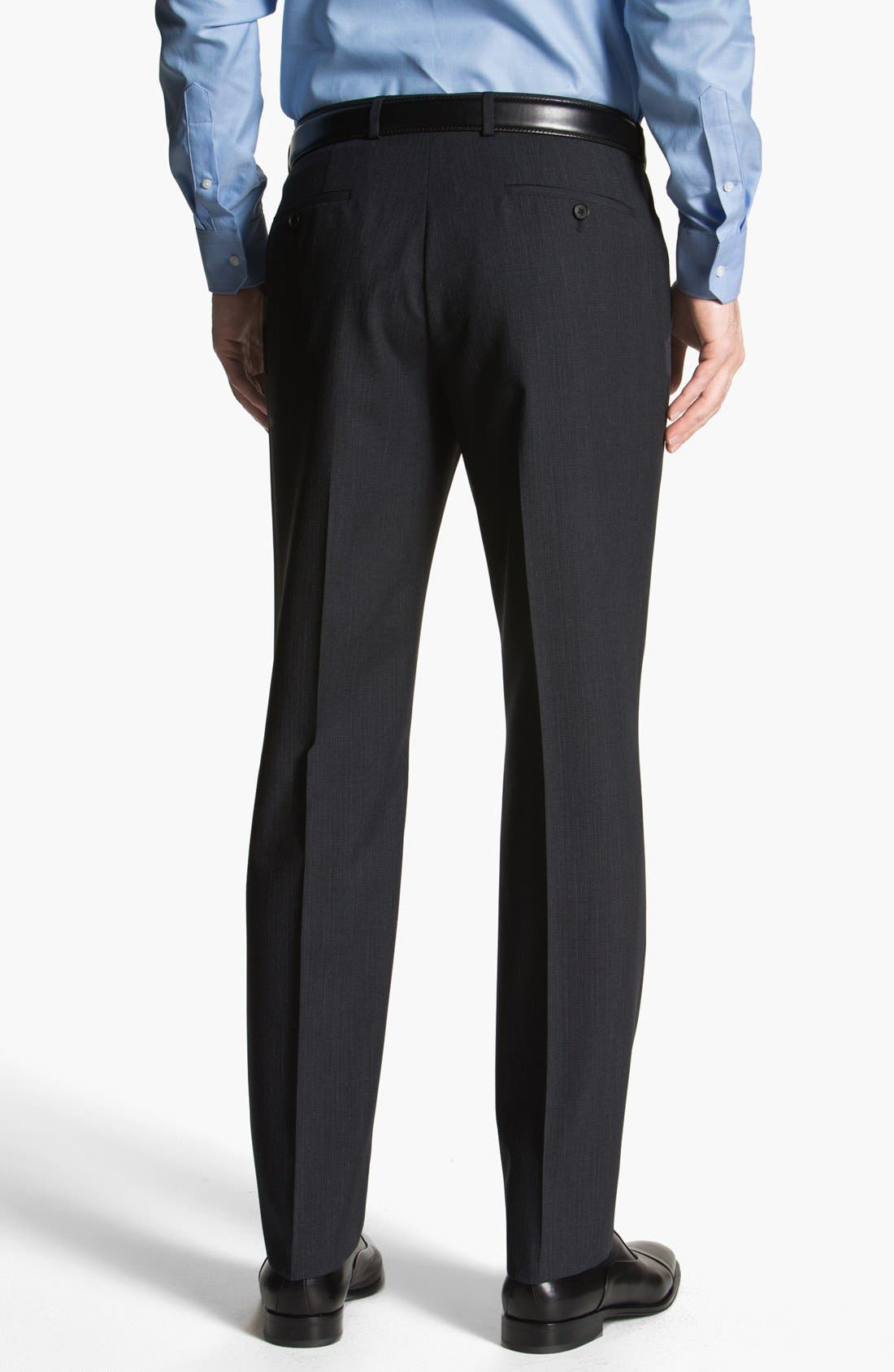 Alternate Image 2  - BOSS HUGO BOSS 'Sharp' Flat Front Trousers