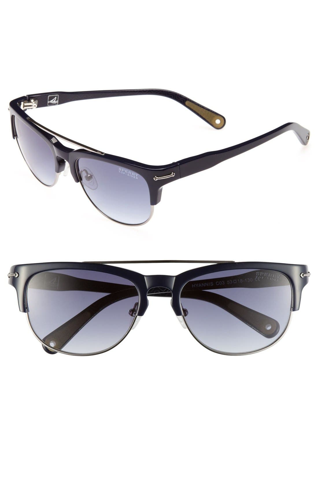 Alternate Image 1 Selected - Sperry Top-Sider® 'Hyannis' 53mm Sunglasses (Online Only)