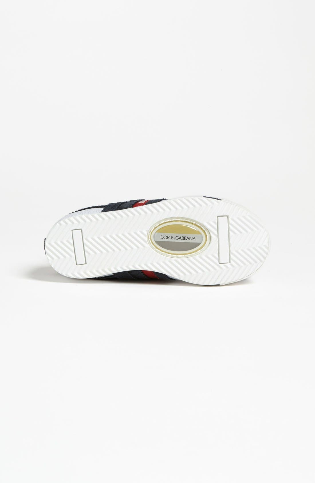 Alternate Image 4  - Dolce&Gabbana Stripe Sneaker (Toddler)