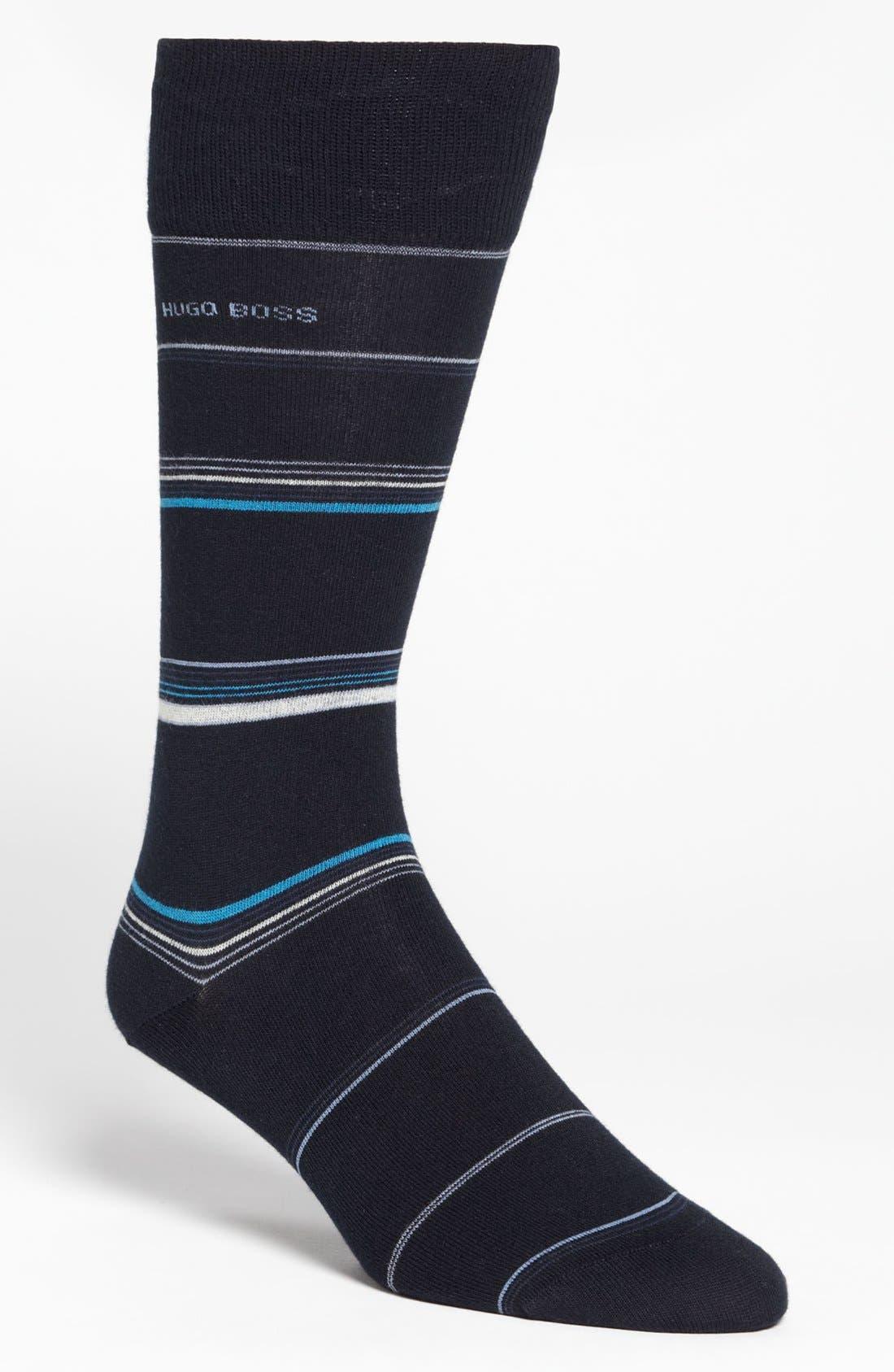 Main Image - BOSS HUGO BOSS 'RS Design' Striped Socks