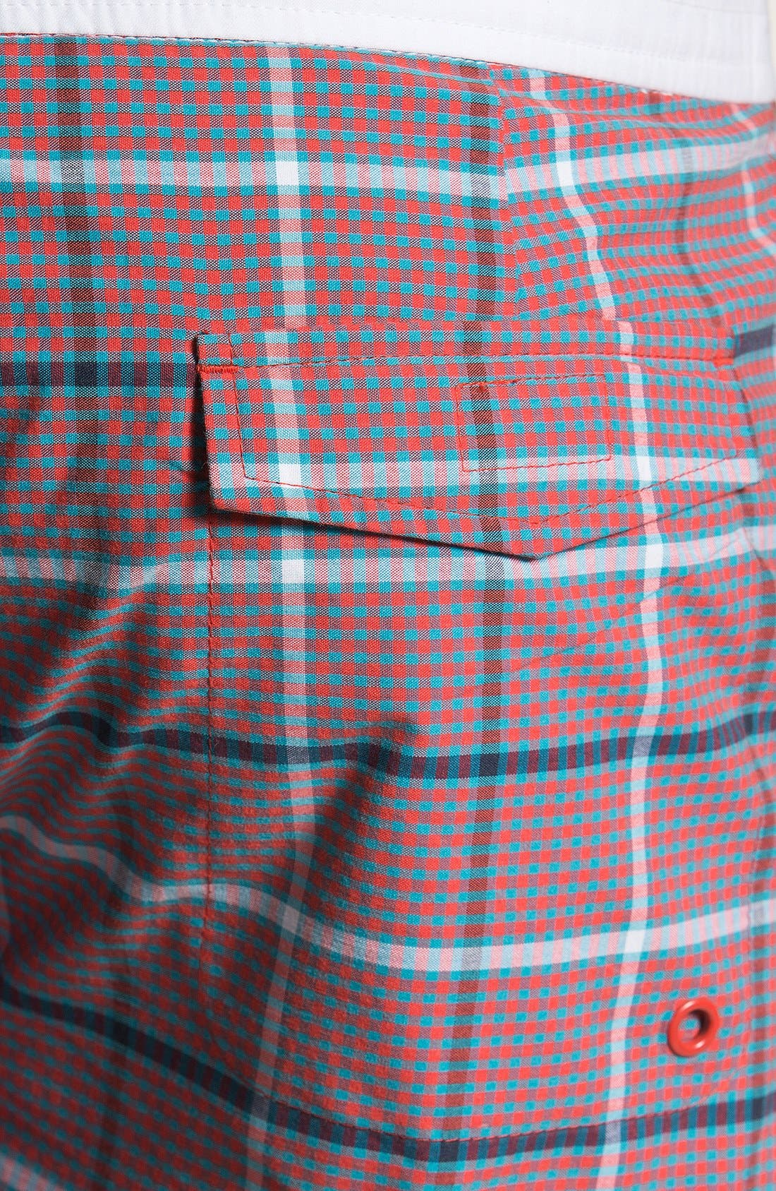 Alternate Image 3  - Original Penguin Check Swim Shorts