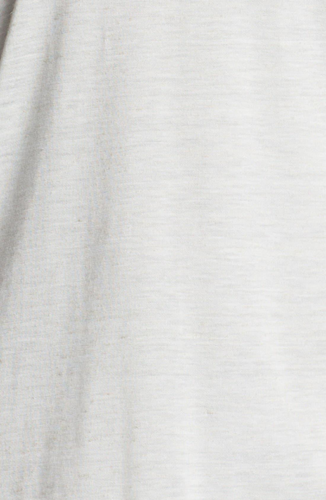 Alternate Image 3  - Pleione Contrast Trim Wedge Top