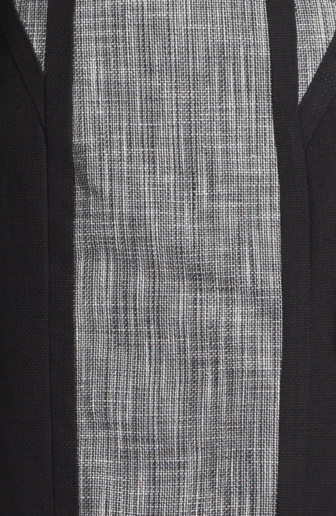 Alternate Image 3  - Calvin Klein Mixed Media Skirt