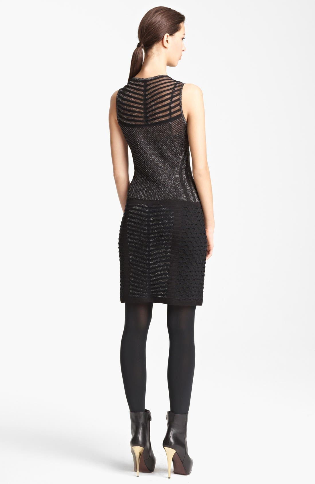 Alternate Image 2  - Missoni Sleeveless Stripe Knit Dress