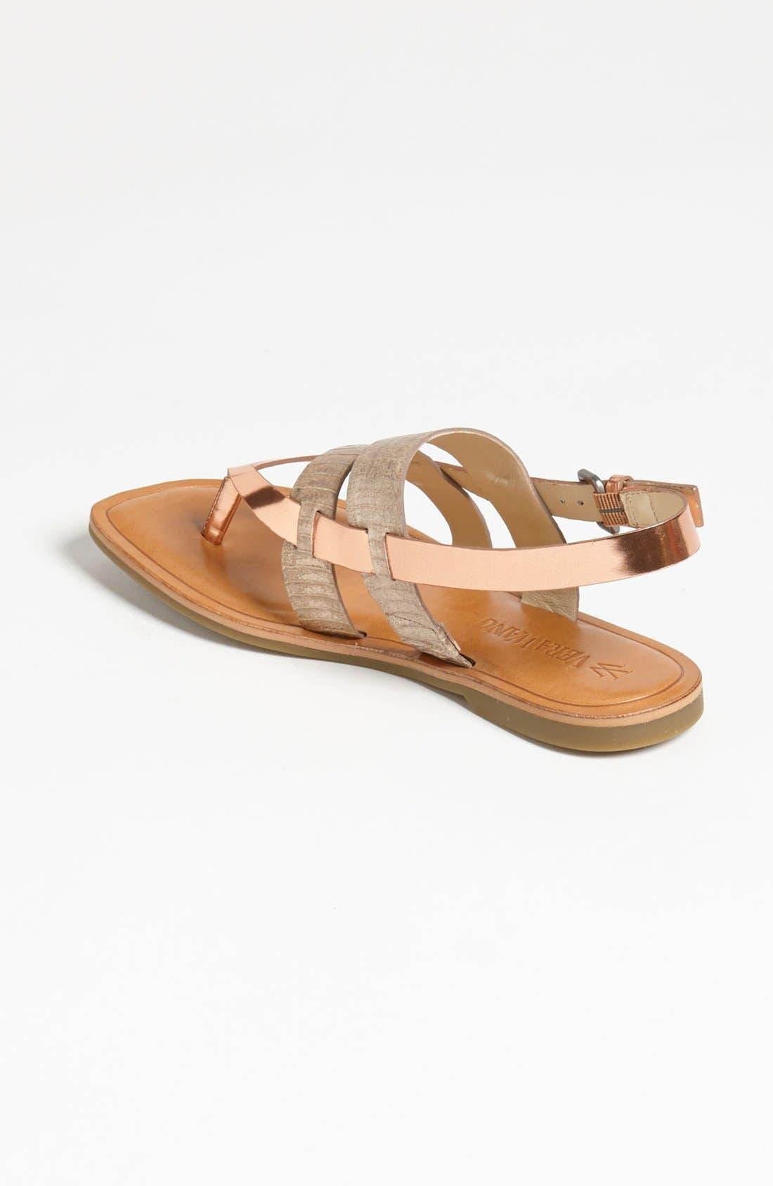 Alternate Image 2  - Vera Wang Footwear 'Annie' Flat Sandal (Online Only)