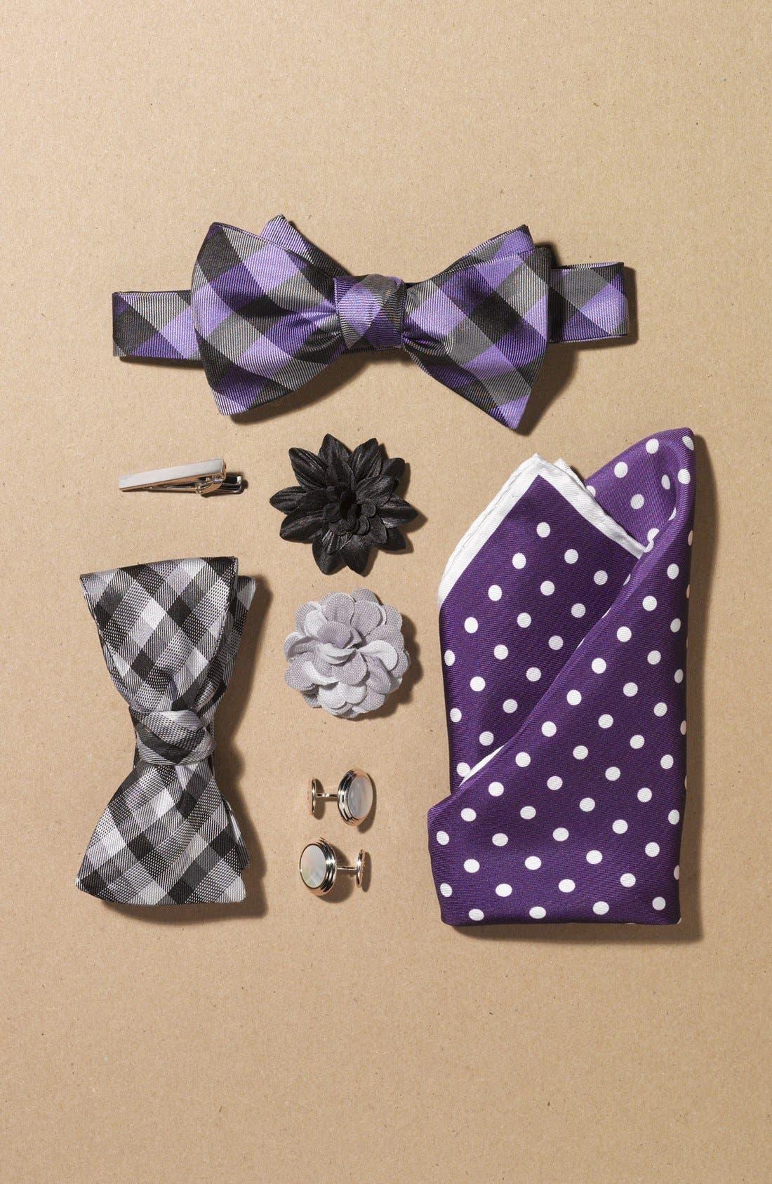 Alternate Image 4  - Michael Kors Silk Bow Tie