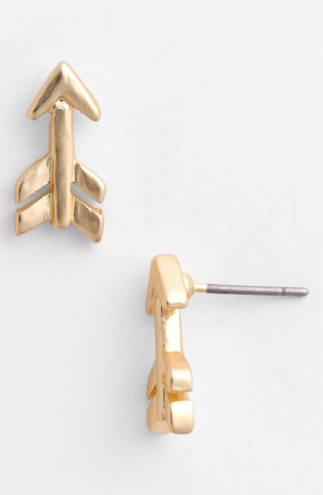 Alternate Image 1 Selected - Nordstrom 'Azteca Arrow' Stud Earrings