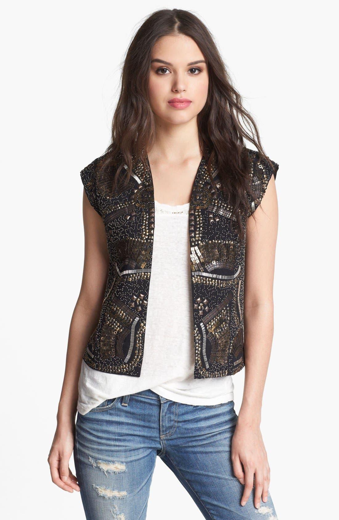 Alternate Image 1 Selected - Hinge® Embellished Vest