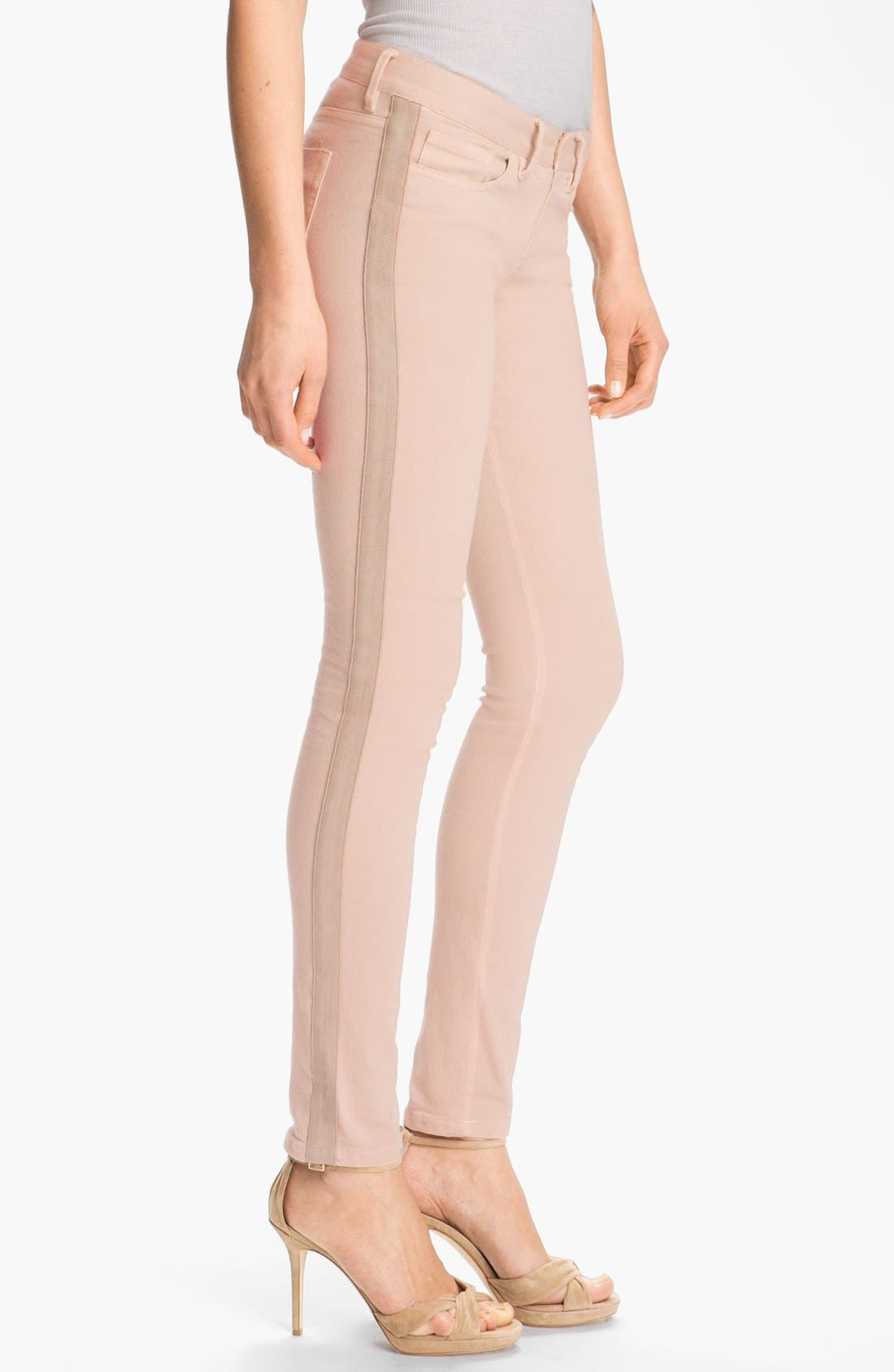 Alternate Image 3  - Haute Hippie Tuxedo Stripe Jeans