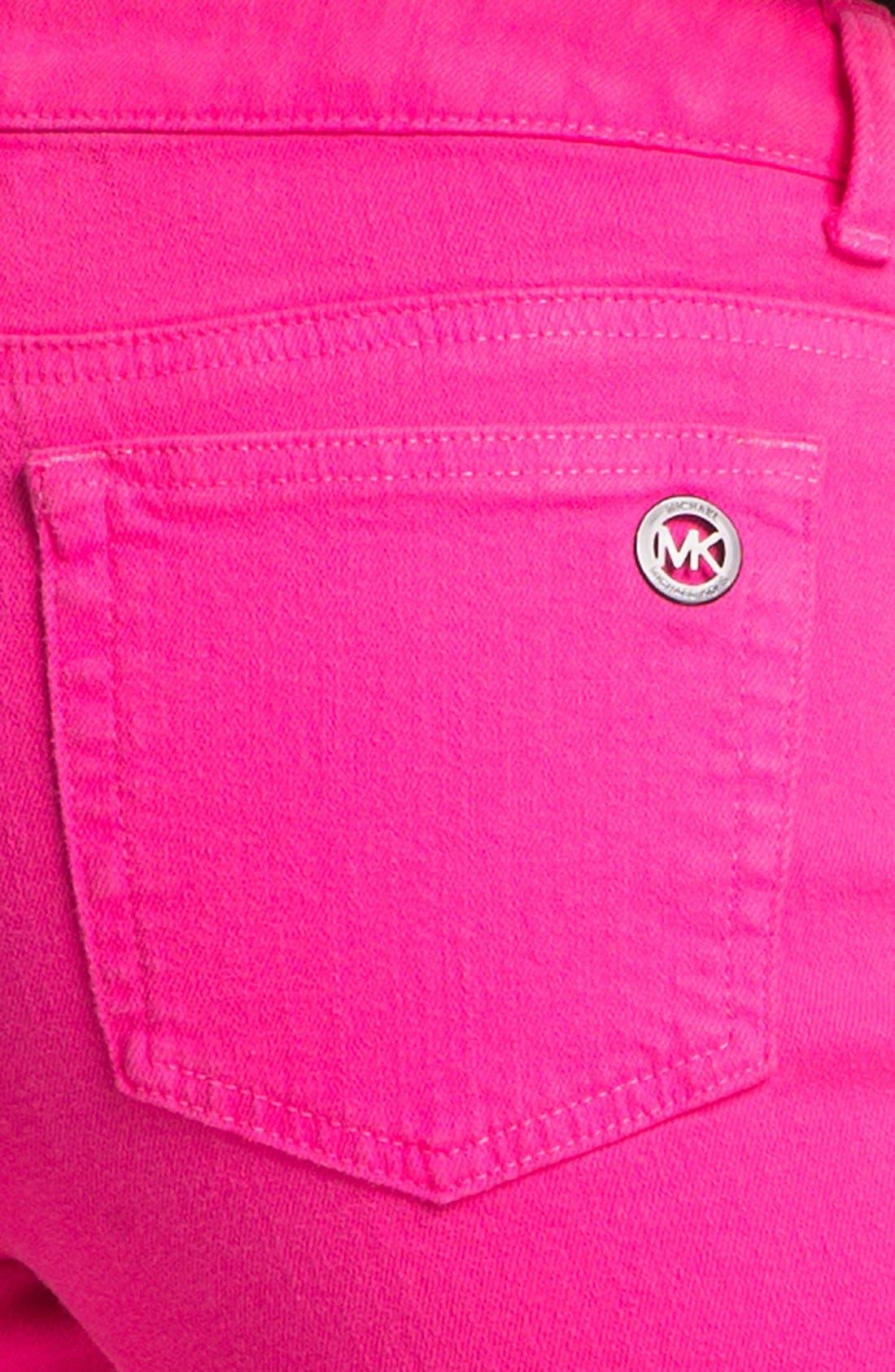 Alternate Image 3  - MICHAEL Michael Kors Color Skinny Jeans