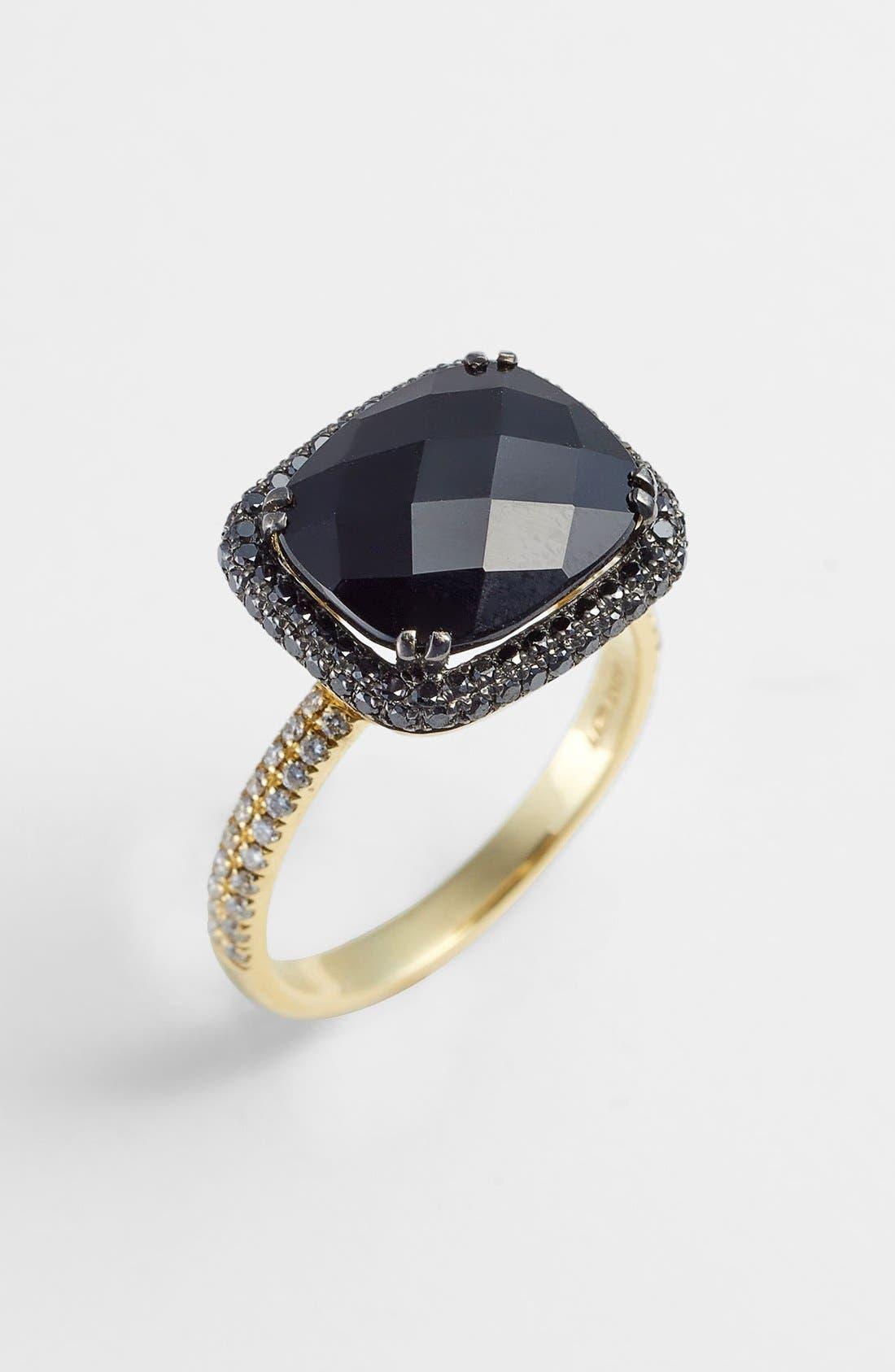 Alternate Image 1 Selected - Bony Levy 'Iris' Diamond & Stone Cocktail Ring (Nordstrom Exclusive)