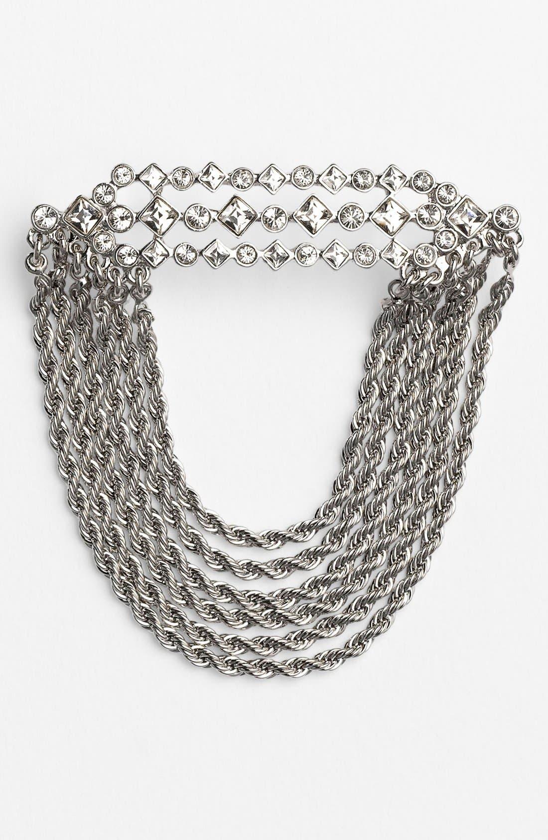 Alternate Image 1 Selected - Givenchy Link & Crystal Pin