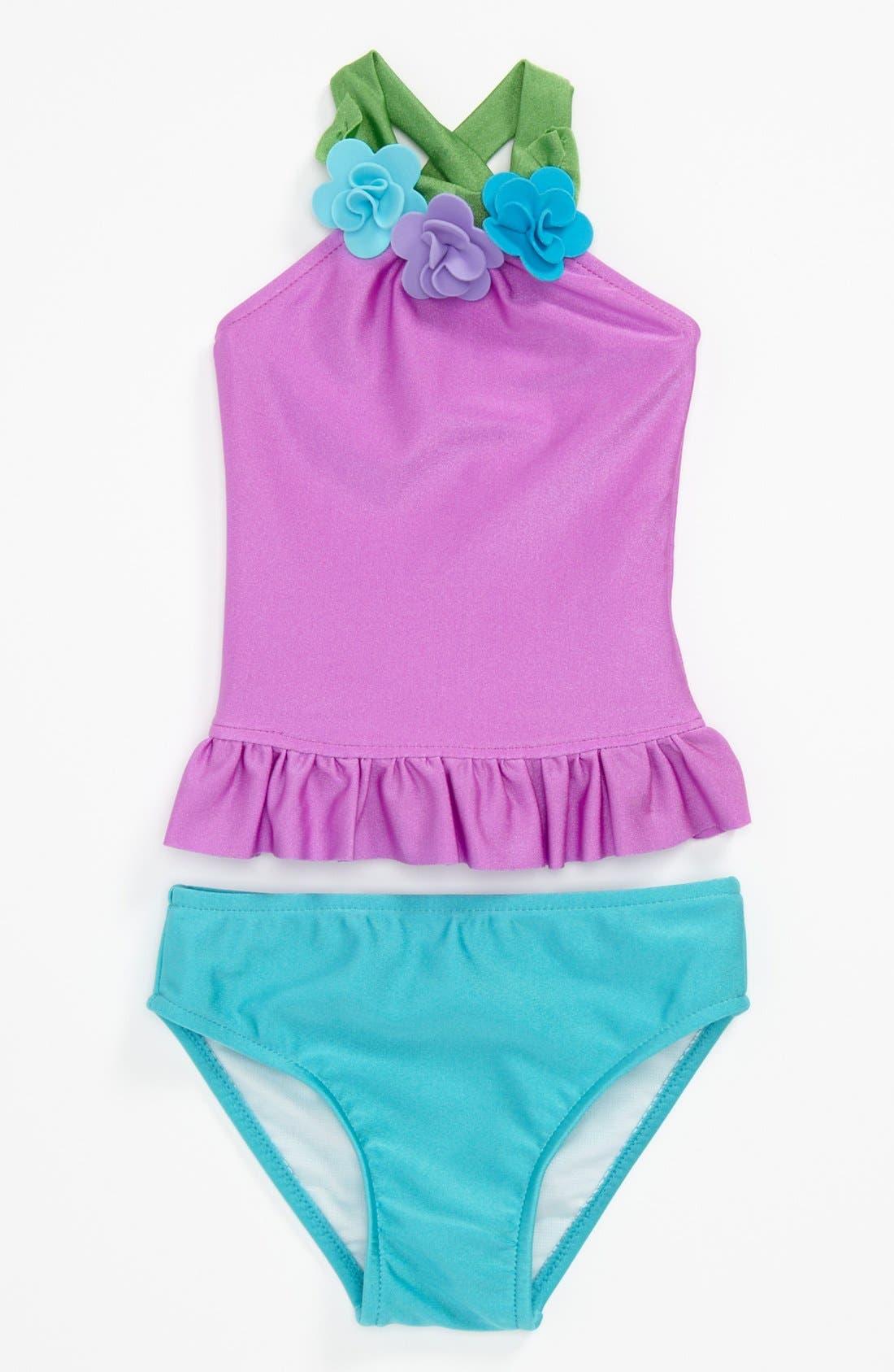 Main Image - Love U Lots Two Piece Swimsuit (Baby)