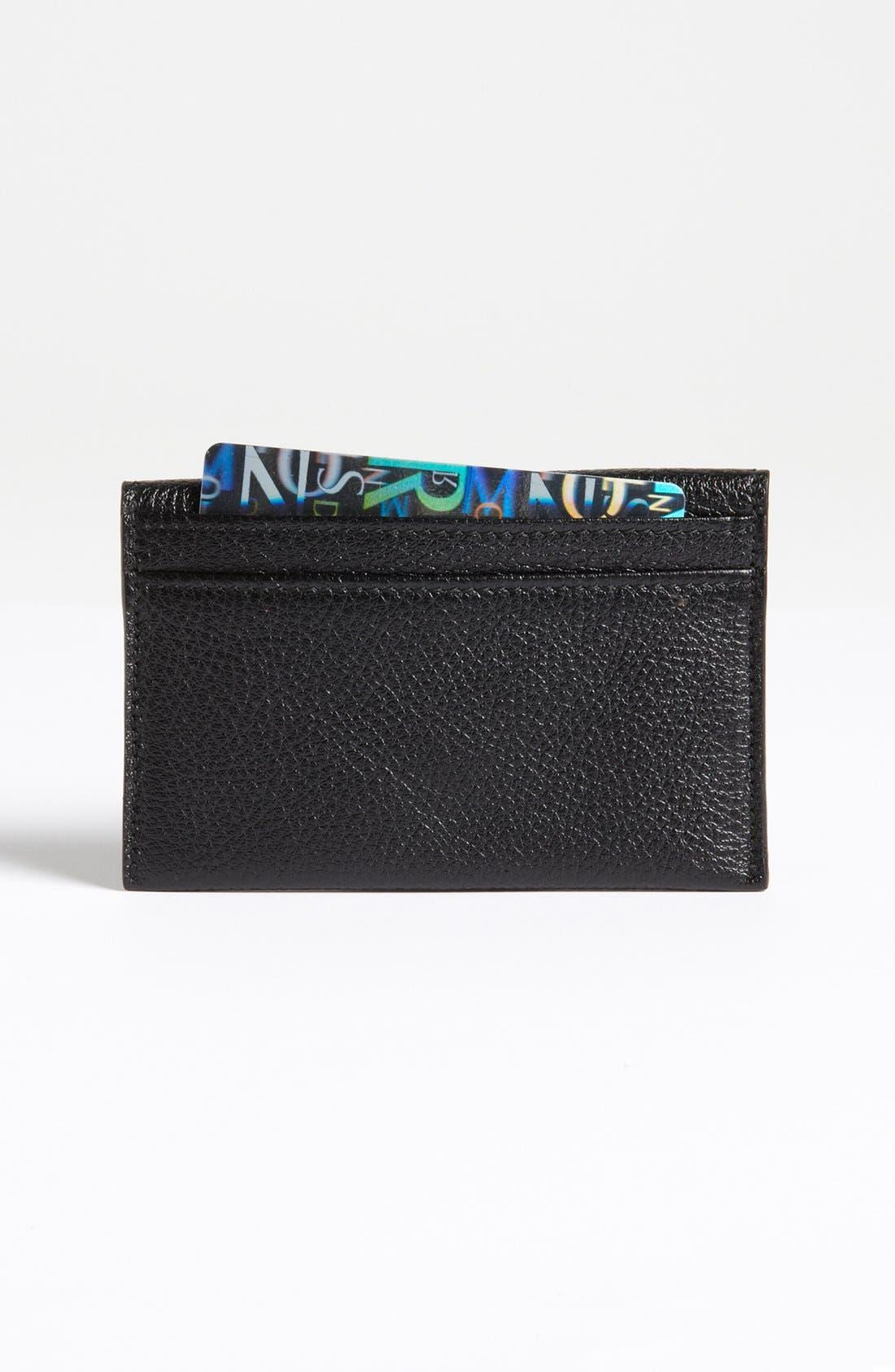 Alternate Image 2  - Salvatore Ferragamo 'Safari' Leather Card Case