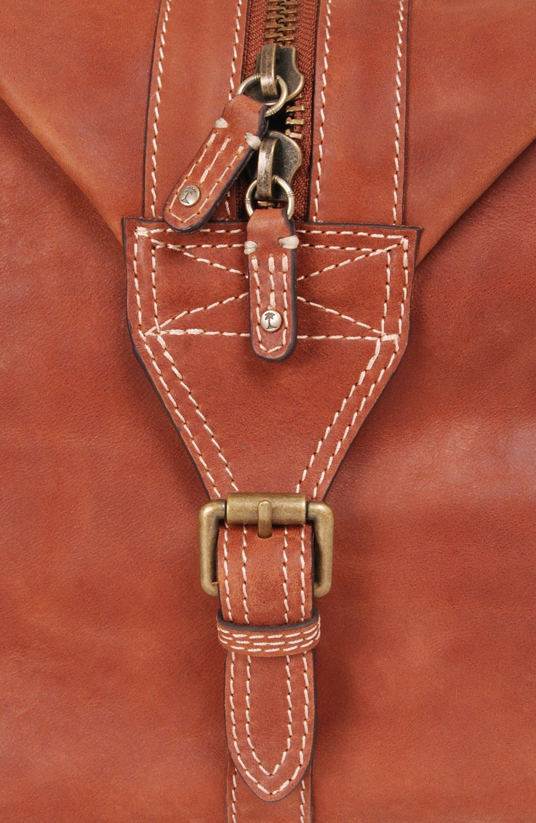 Alternate Image 5  - Tommy Bahama Leather Duffel Bag