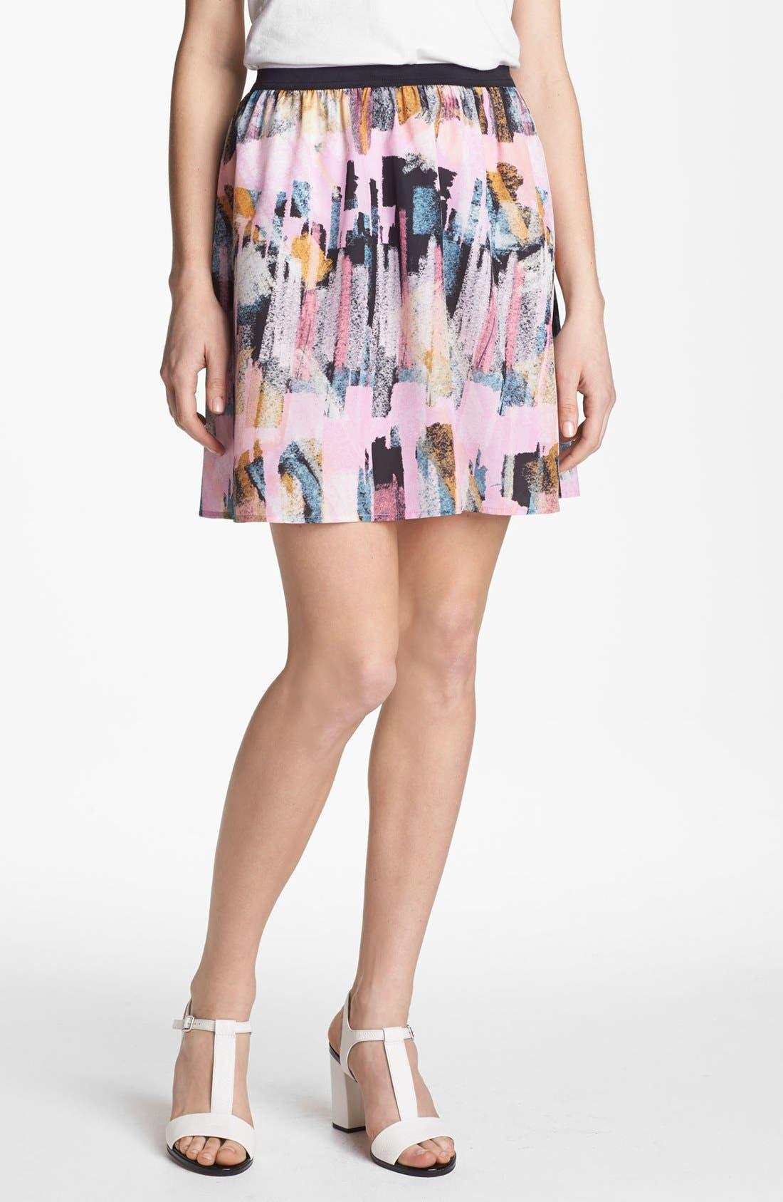 Main Image - Trouvé Flowy Skirt