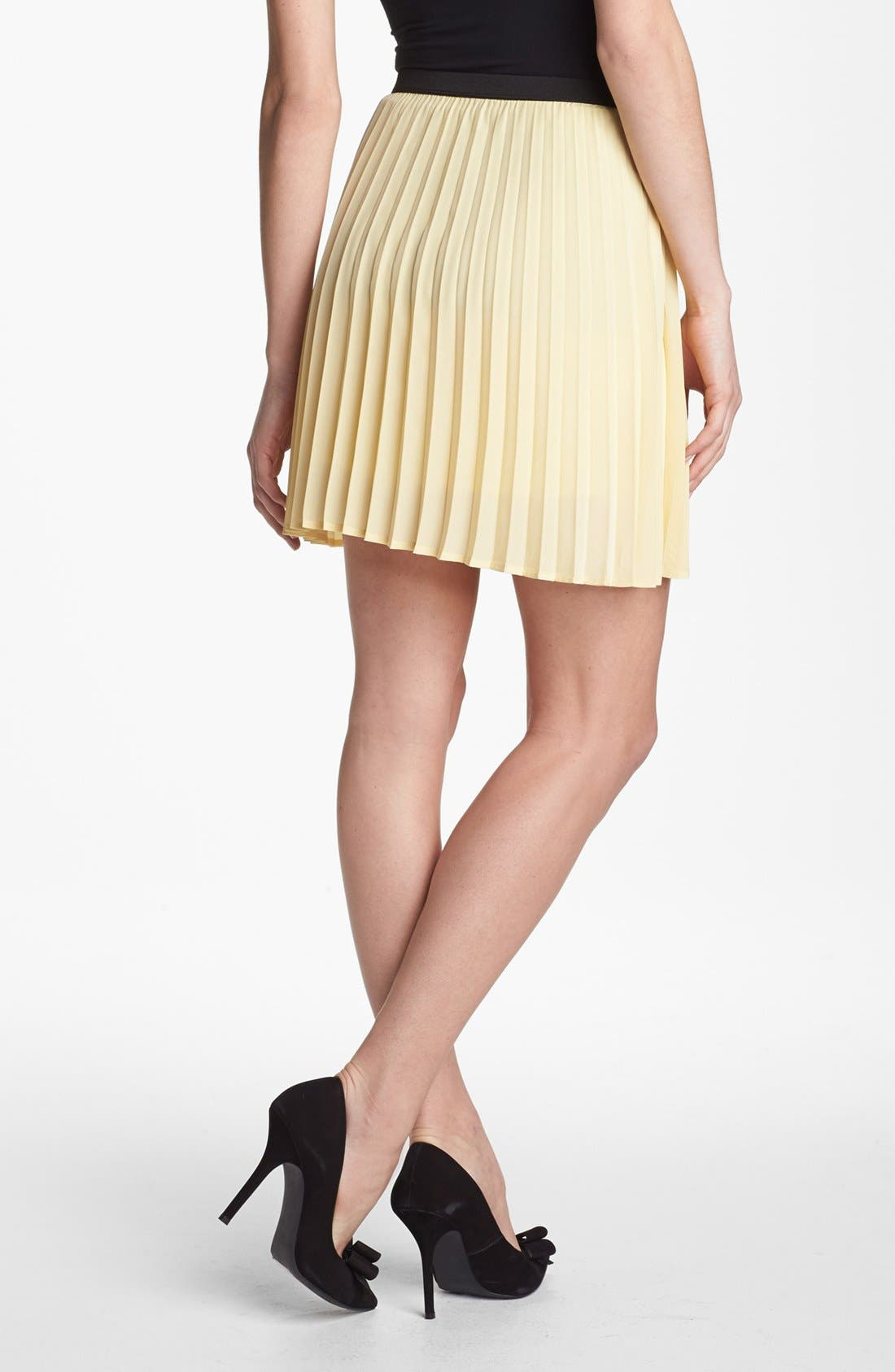 Alternate Image 2  - Willow & Clay Pleated Skirt