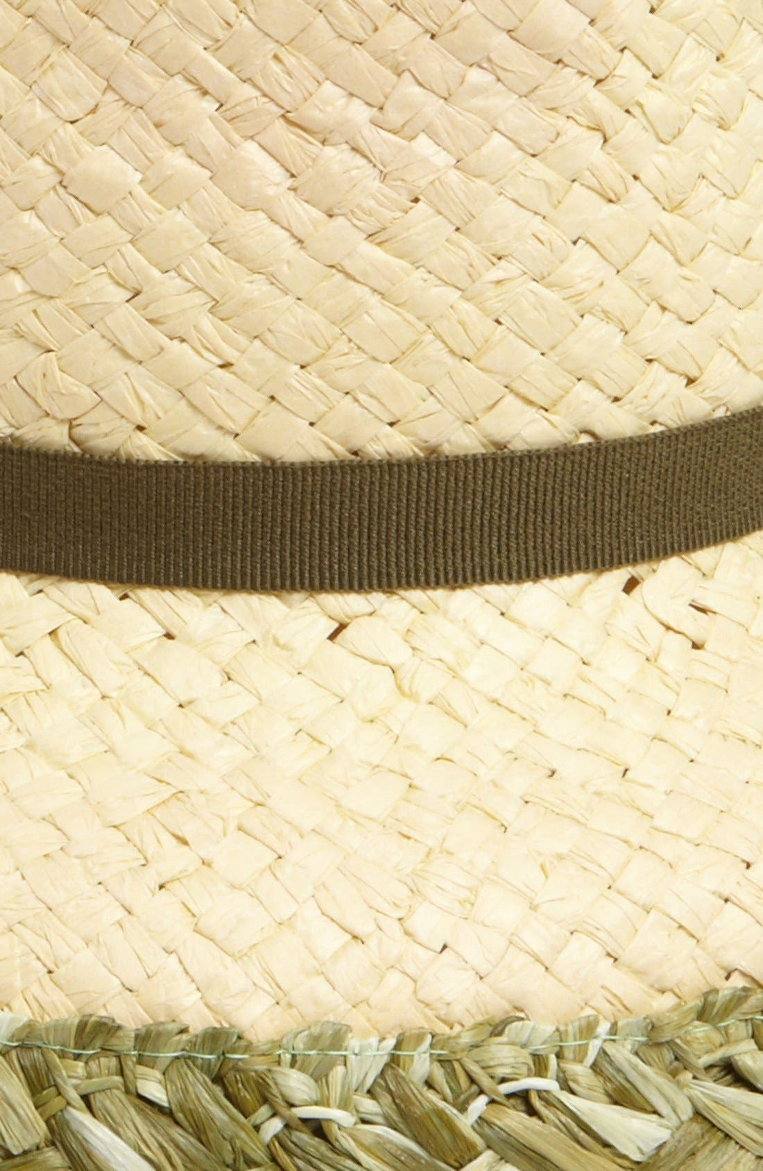 Alternate Image 2  - Nordstrom Braided Trim Fedora
