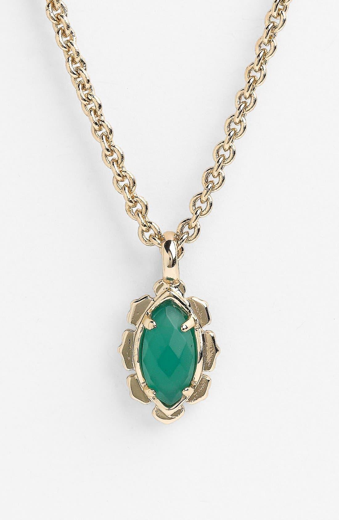 Main Image - Kendra Scott 'Lian' Stone Pendant Necklace (Nordstrom Exclusive)