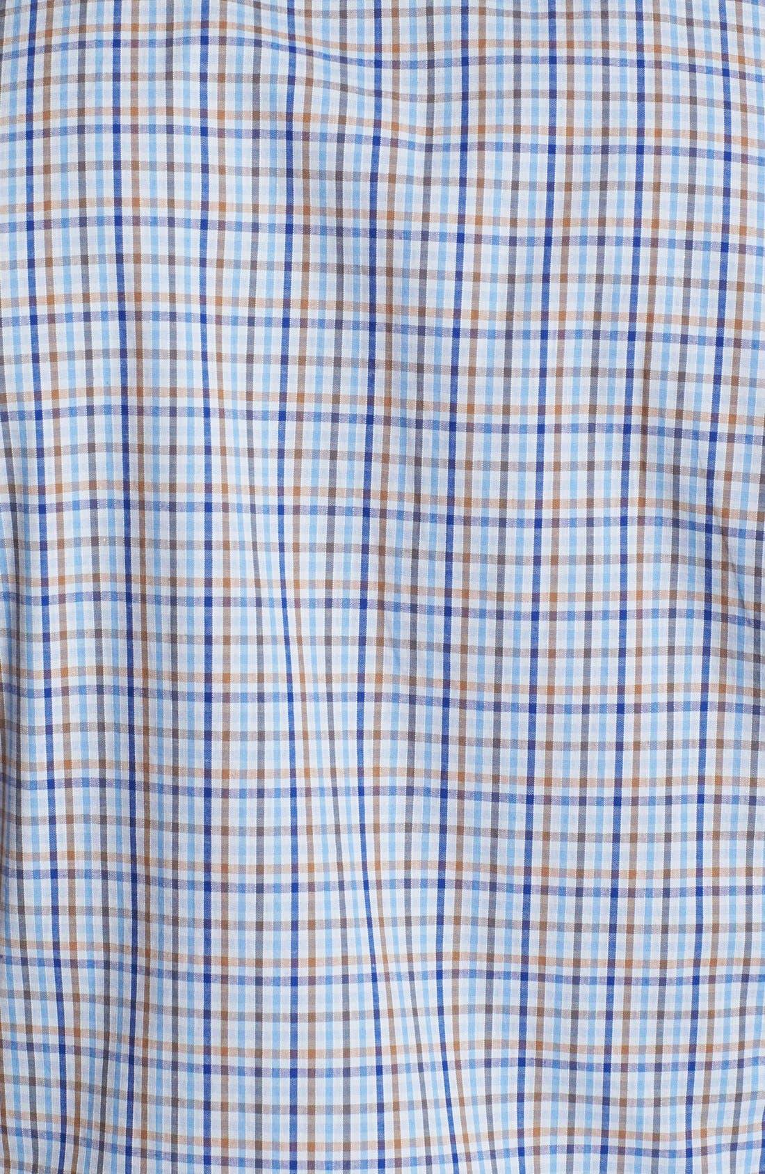 Alternate Image 2  - Ben Sherman Check Short Sleeve Woven Shirt
