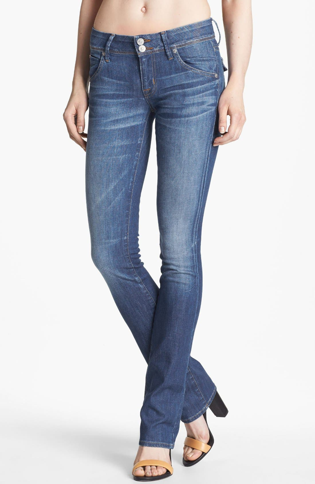 Alternate Image 1 Selected - Hudson Jeans Baby Bootcut Jeans (Morris)