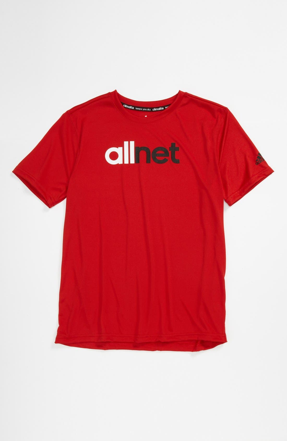 Alternate Image 1 Selected - adidas 'All Net' T-shirt (Big Boys)