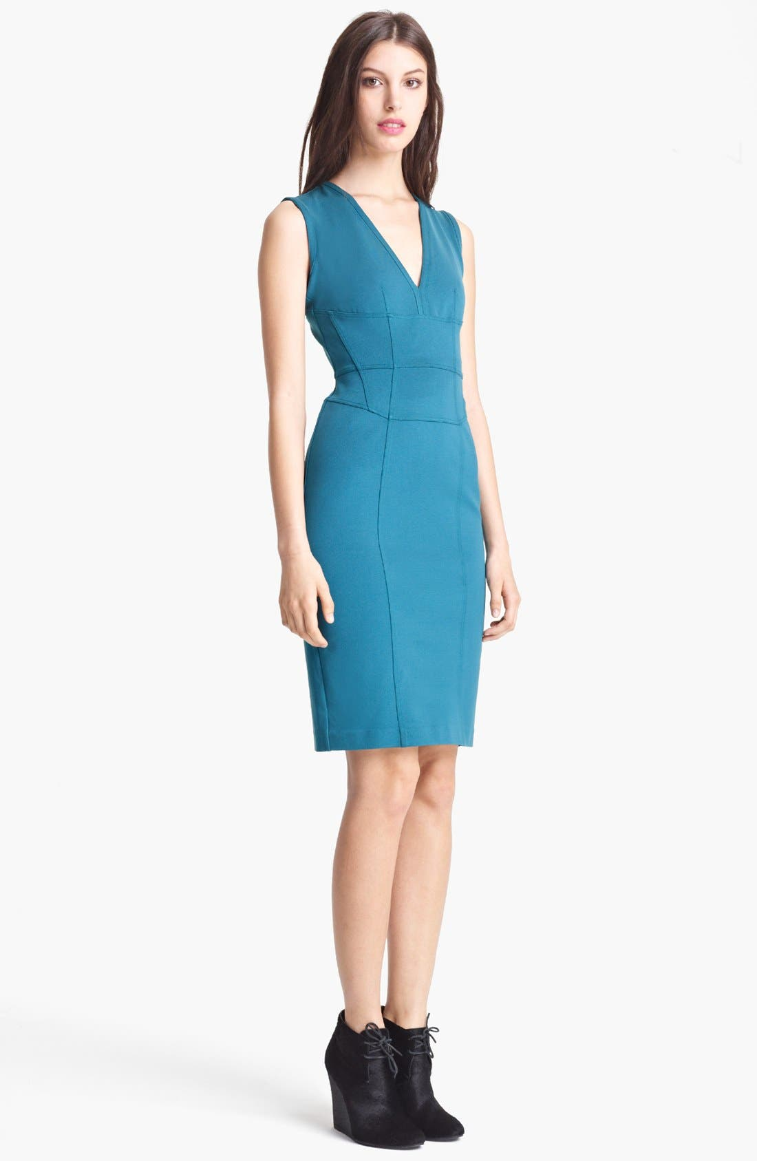 Main Image - Burberry London Jersey Dress