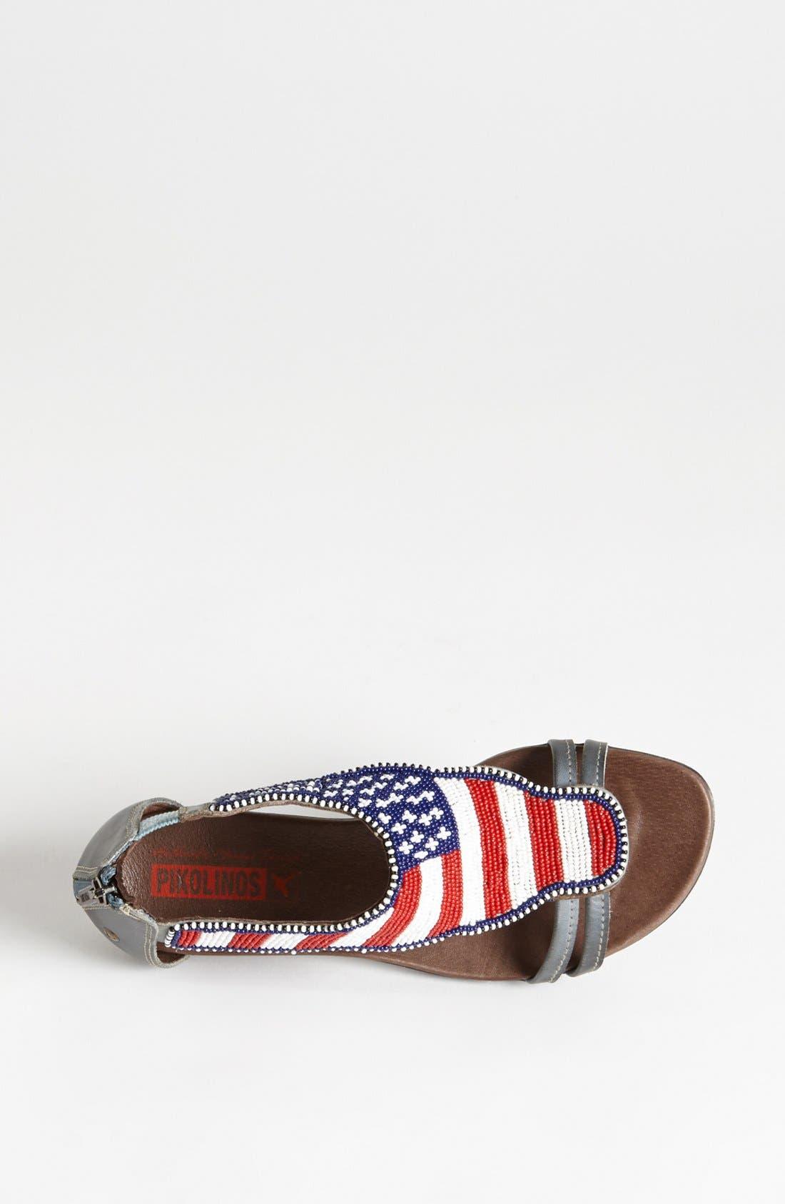 Alternate Image 3  - PIKOLINOS 'Alcudia Maasai - USA' Sandal