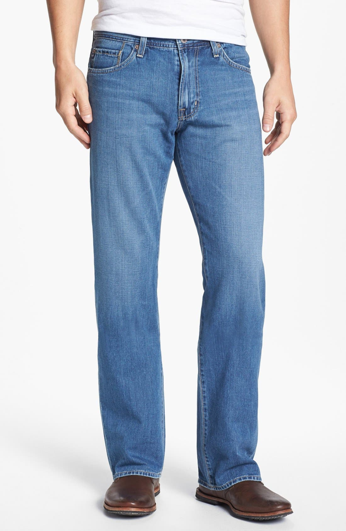 Alternate Image 1 Selected - AG Jeans 'Hero' Relaxed Leg Jeans (Degree)