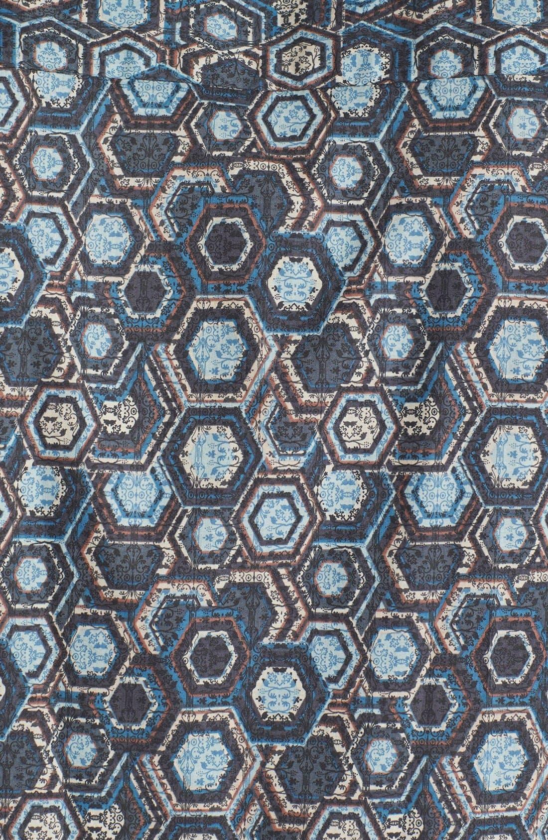 Alternate Image 3  - Tori Richard 'Honeycomb II' Cotton Lawn Campshirt