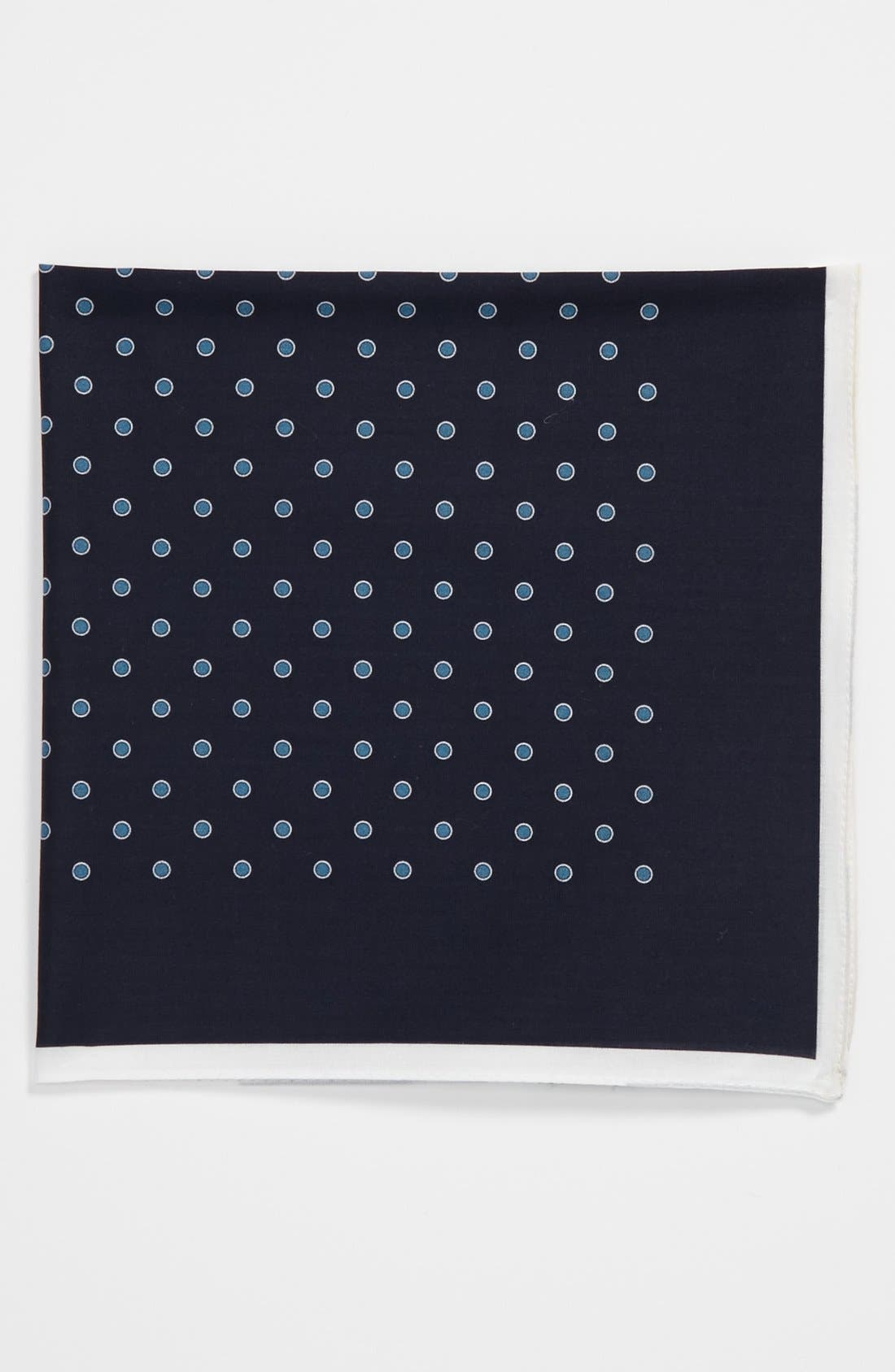 Alternate Image 1 Selected - BOSS Black Pocket Square