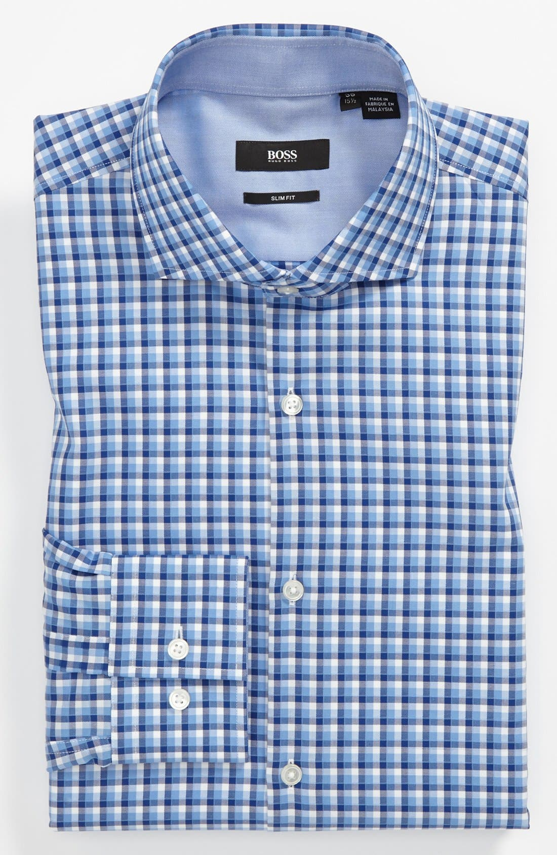 Alternate Image 1 Selected - BOSS HUGO BOSS Easy Iron 'Jonas' Slim Fit Dress Shirt