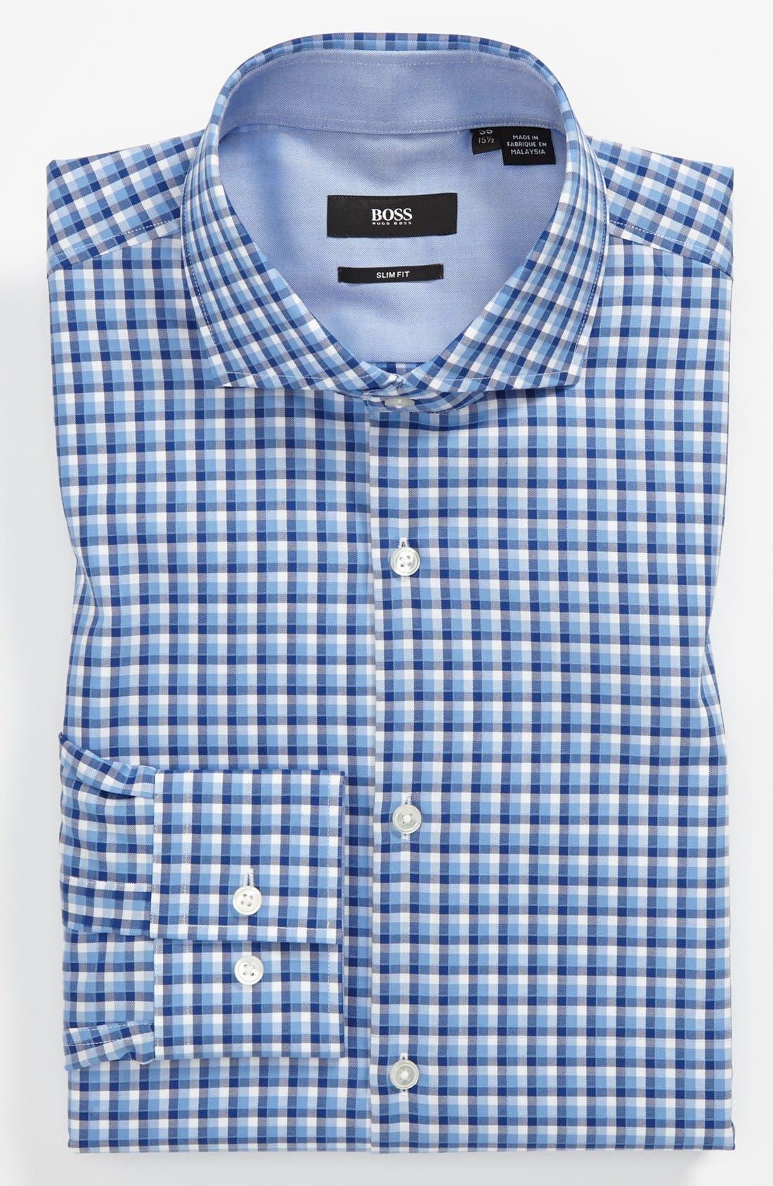 Main Image - BOSS HUGO BOSS Easy Iron 'Jonas' Slim Fit Dress Shirt