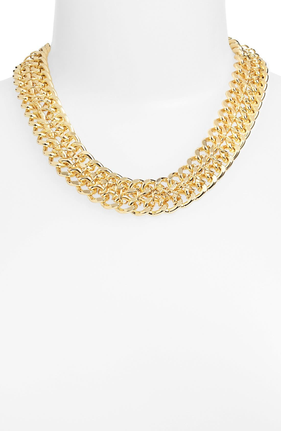 Alternate Image 1 Selected - Stephan & Co. Chain Necklace (Juniors) (Online Only)