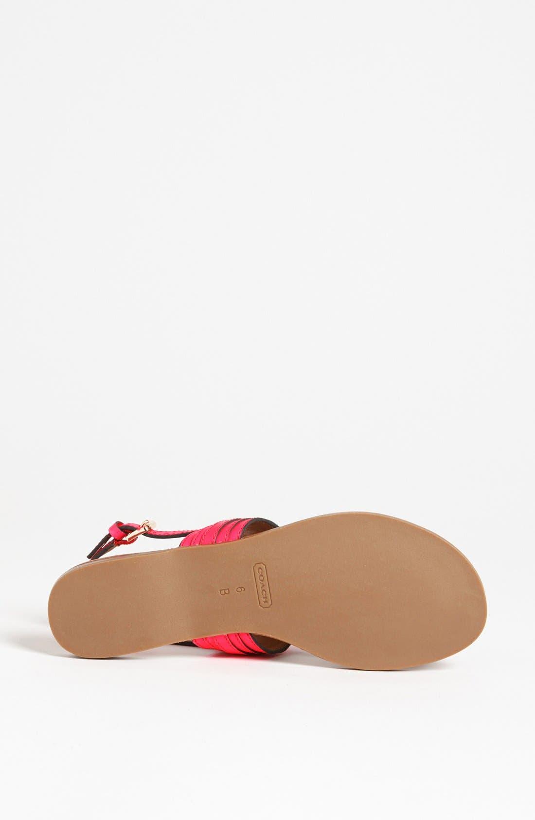Alternate Image 4  - COACH 'Sammy' Sandal