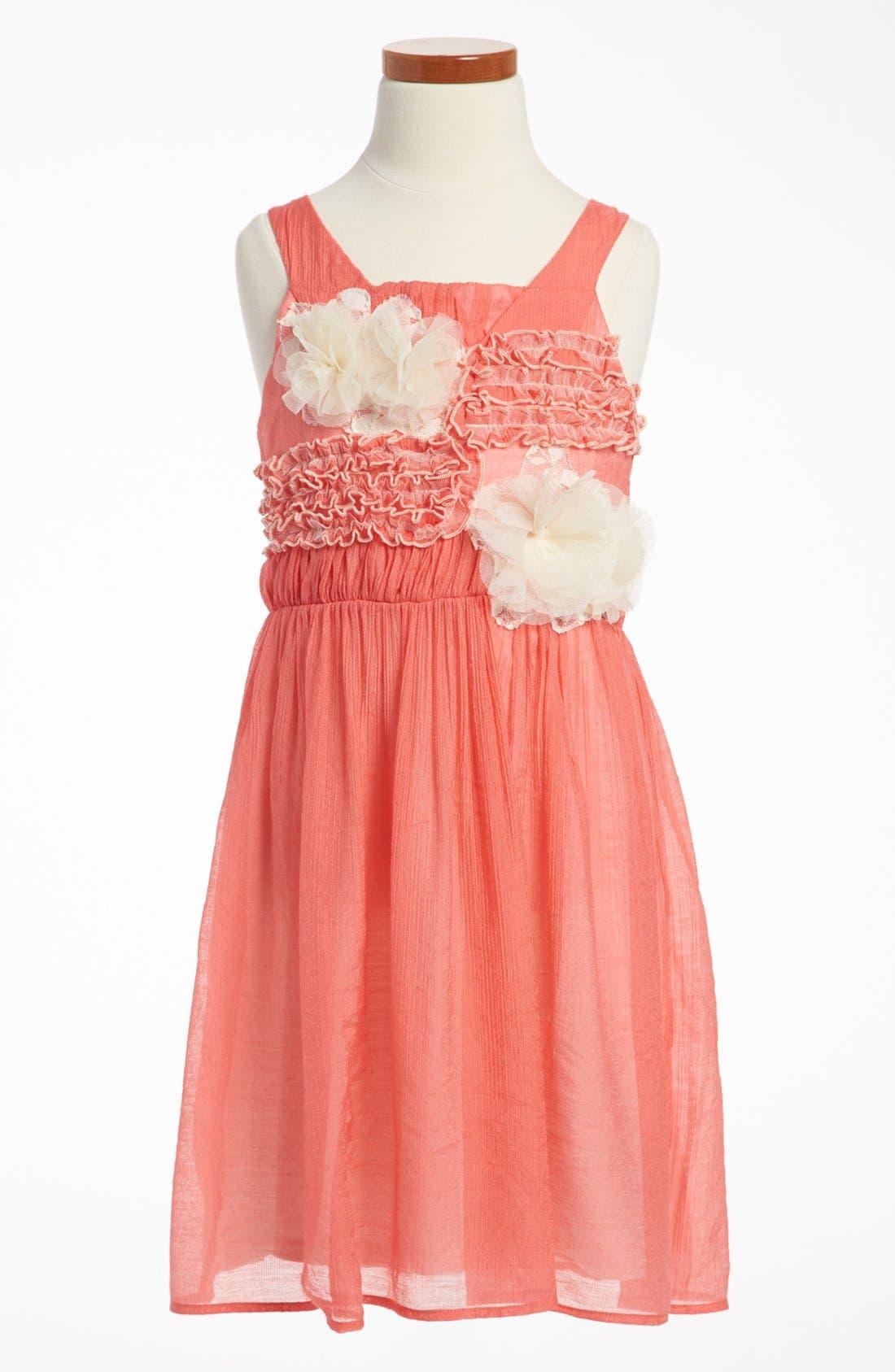 Alternate Image 1 Selected - Isobella & Chloe 'Vicky' Dress (Little Girls & Big Girls)