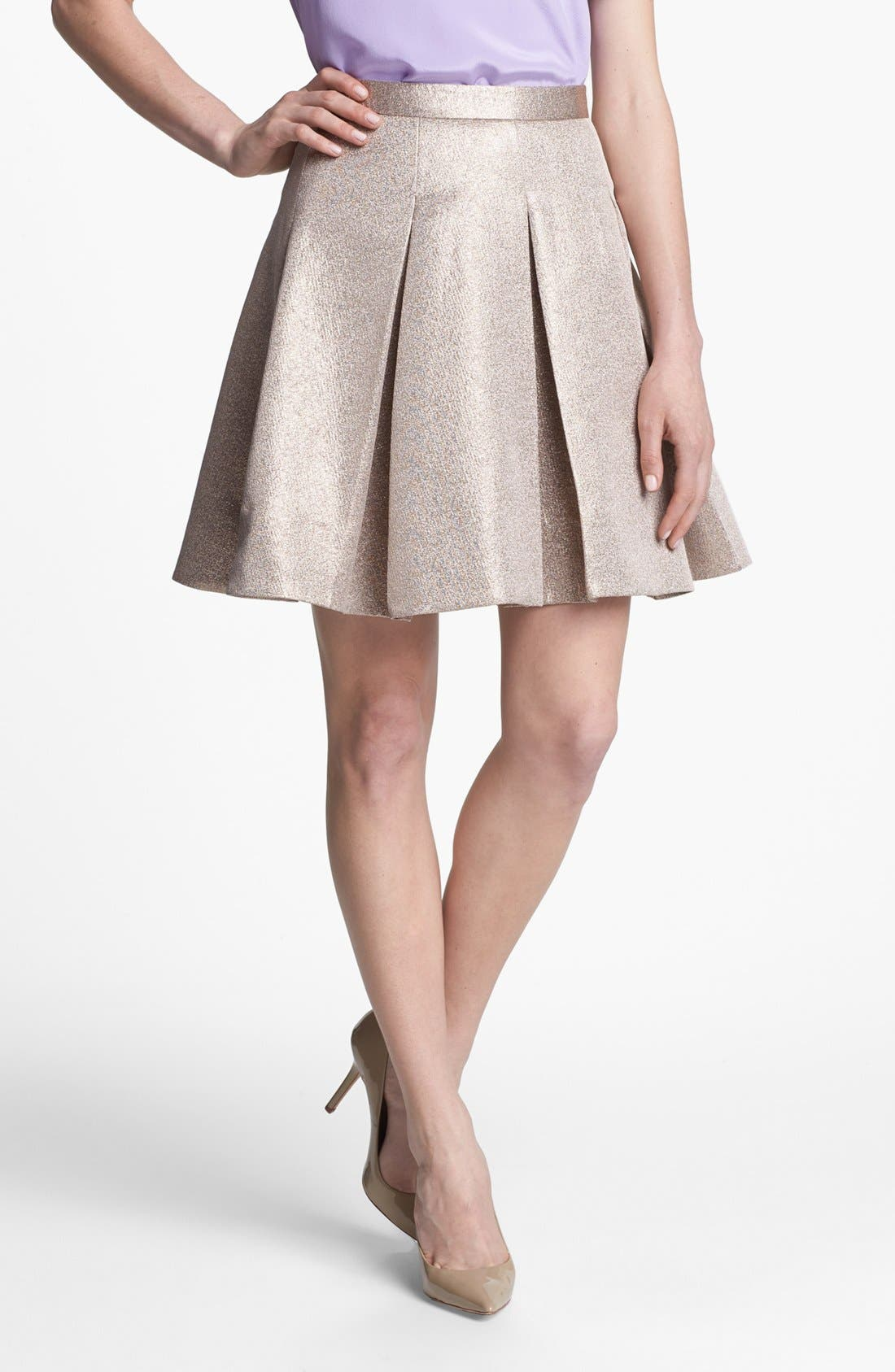 Main Image - kate spade new york 'ariella' flare skirt