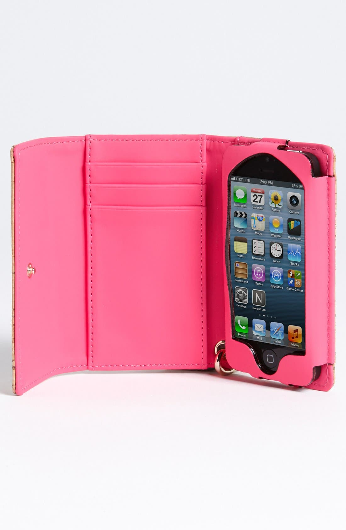 Alternate Image 2  - kate spade new york 'summer cork' iPhone 5 & 5S wristlet