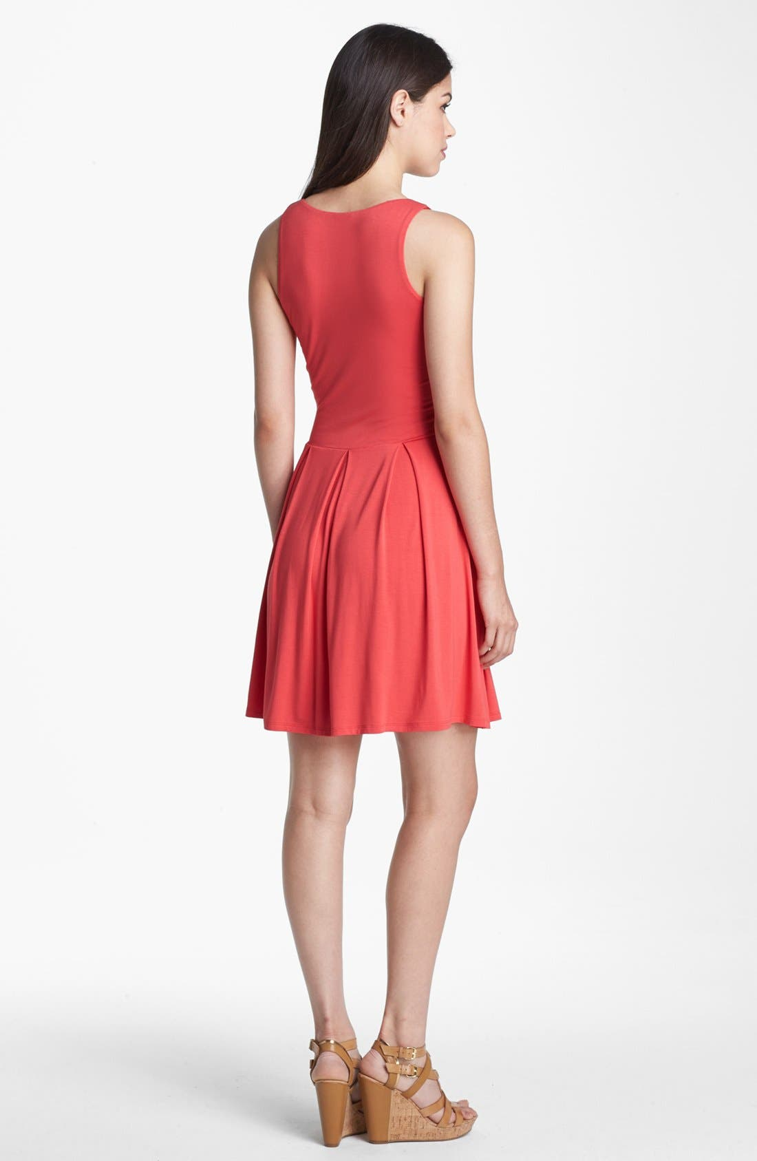 Alternate Image 2  - Felicity & Coco Jersey Skater Dress (Regular & Petite) (Nordstrom Exclusive)