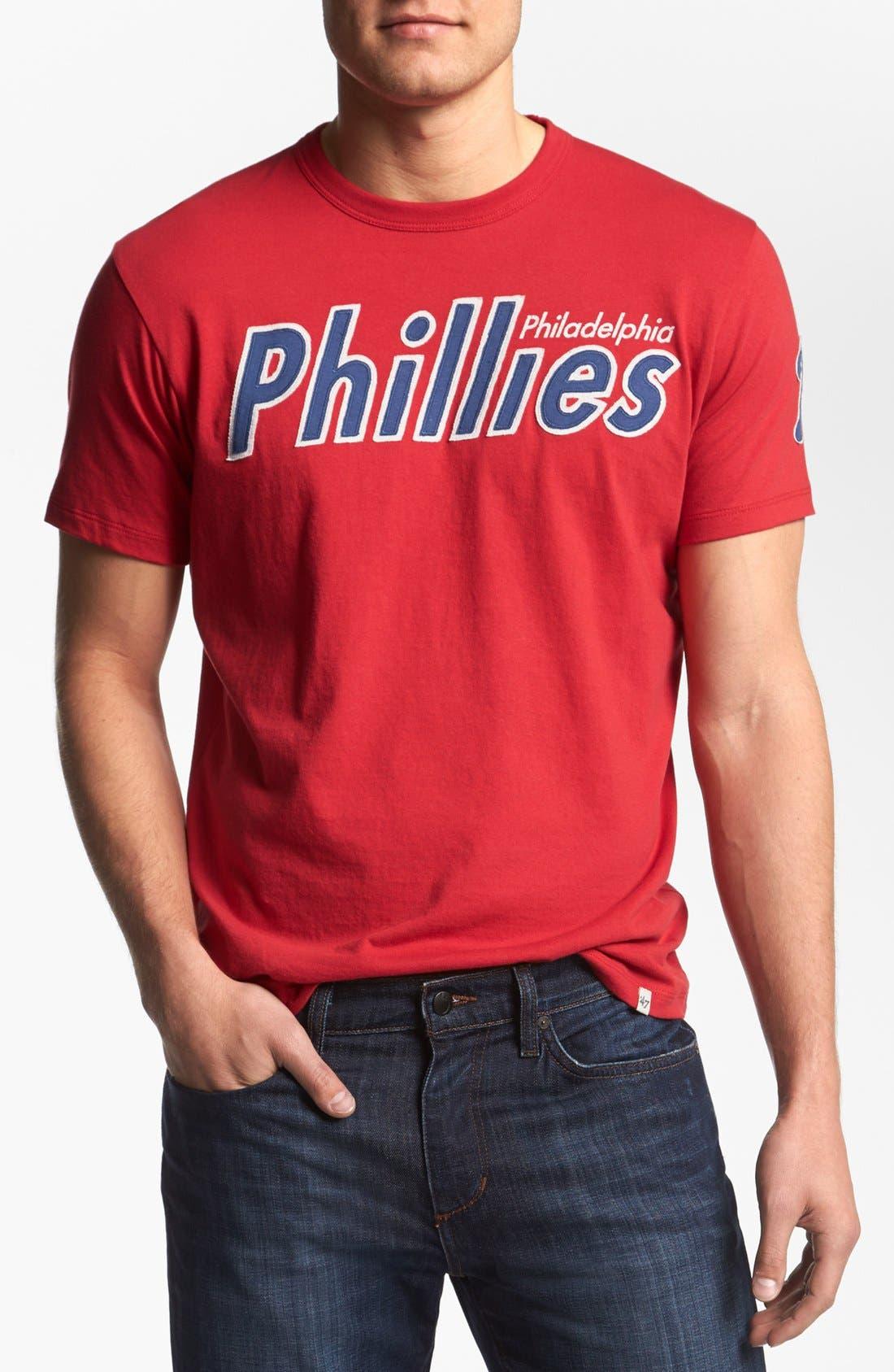 Alternate Image 1 Selected - '47 'Philadelphia Phillies - Fieldhouse' T-Shirt