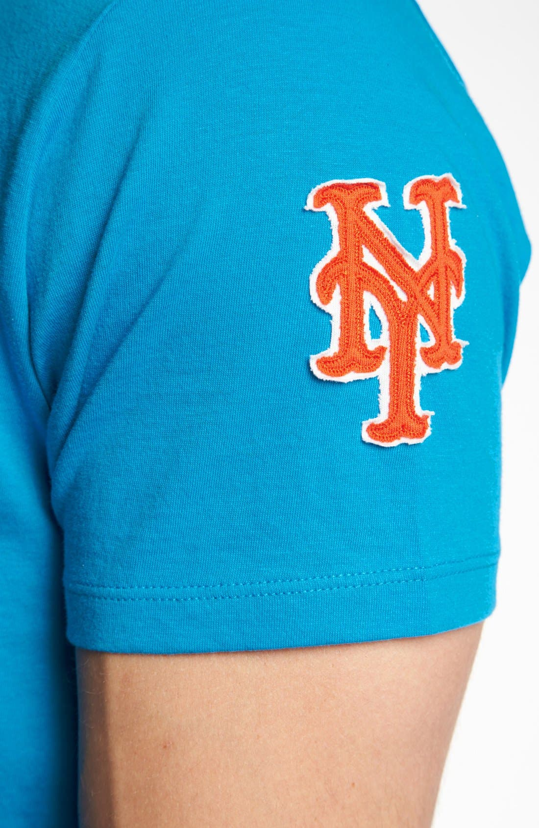 'New York Mets - Fieldhouse' T-Shirt,                             Alternate thumbnail 3, color,                             Glacier