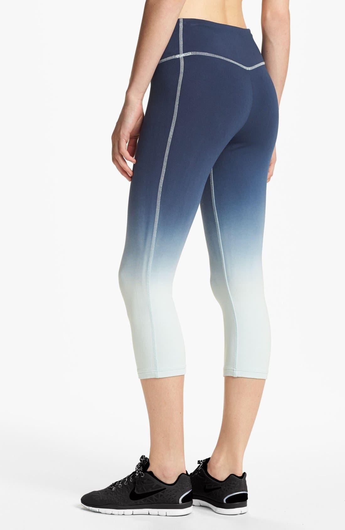 Alternate Image 2  - Nike 'Legend 2.0' Dip Dye Capri Leggings
