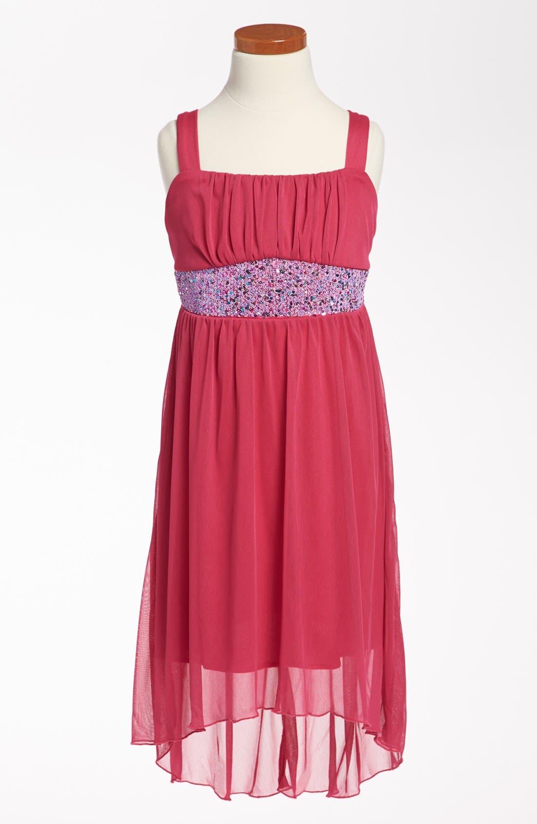 Alternate Image 1 Selected - Roxette Sleeveless Dress (Big Girls)