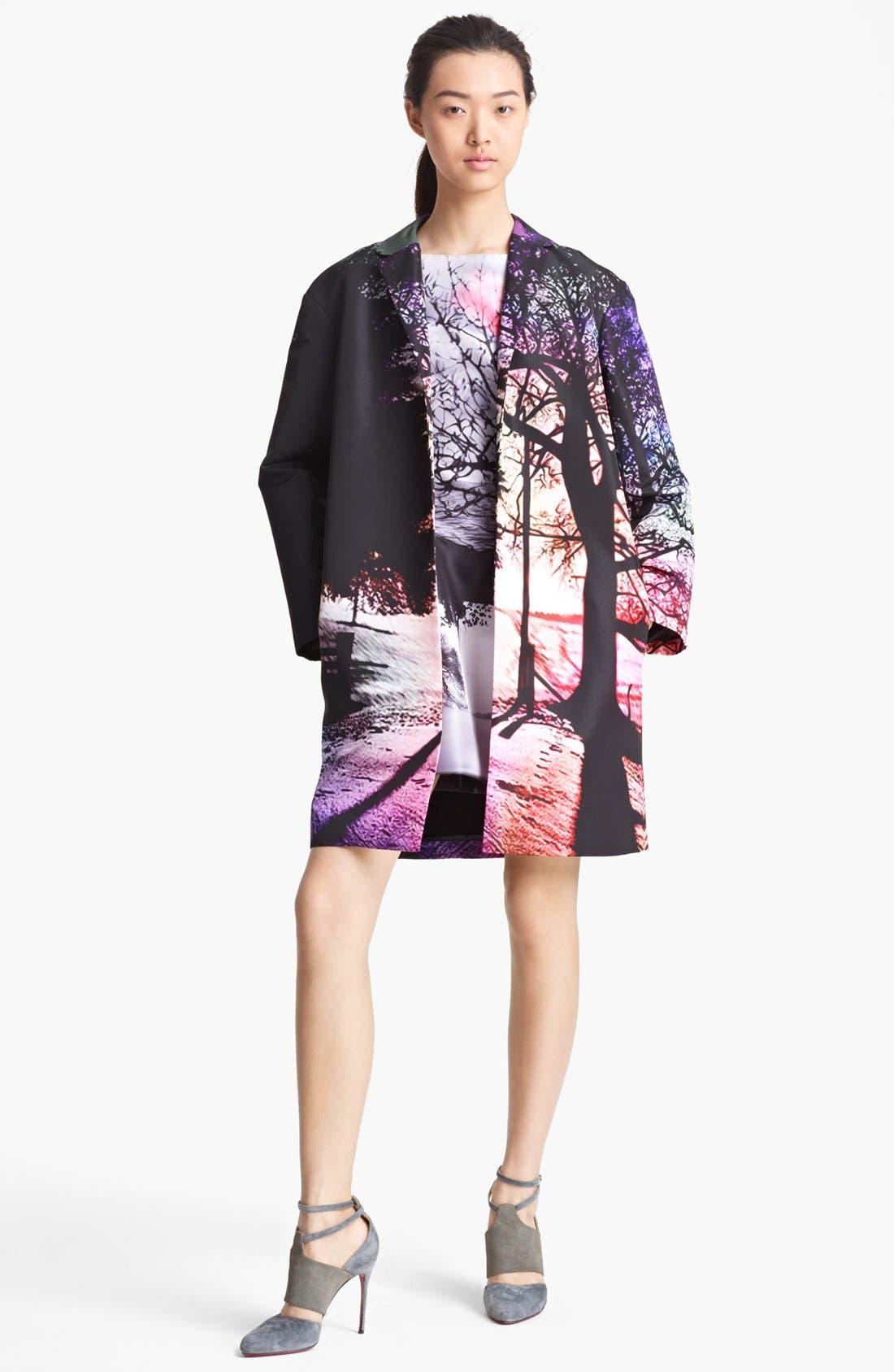 Alternate Image 1 Selected - Mary Katrantzou Satin Coat
