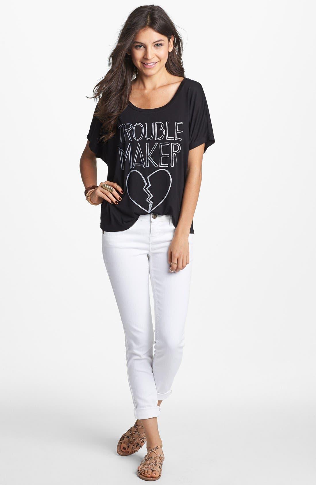 Main Image - Jolt Skinny Jeans (Juniors)