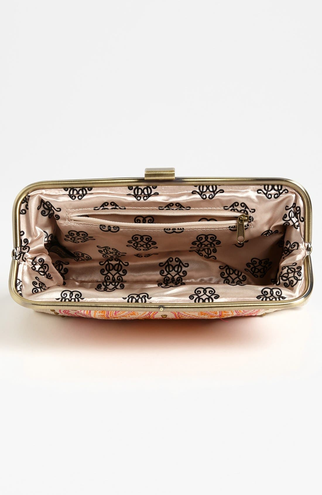 Alternate Image 2  - Jessica Simpson 'Bali' Frame Clutch