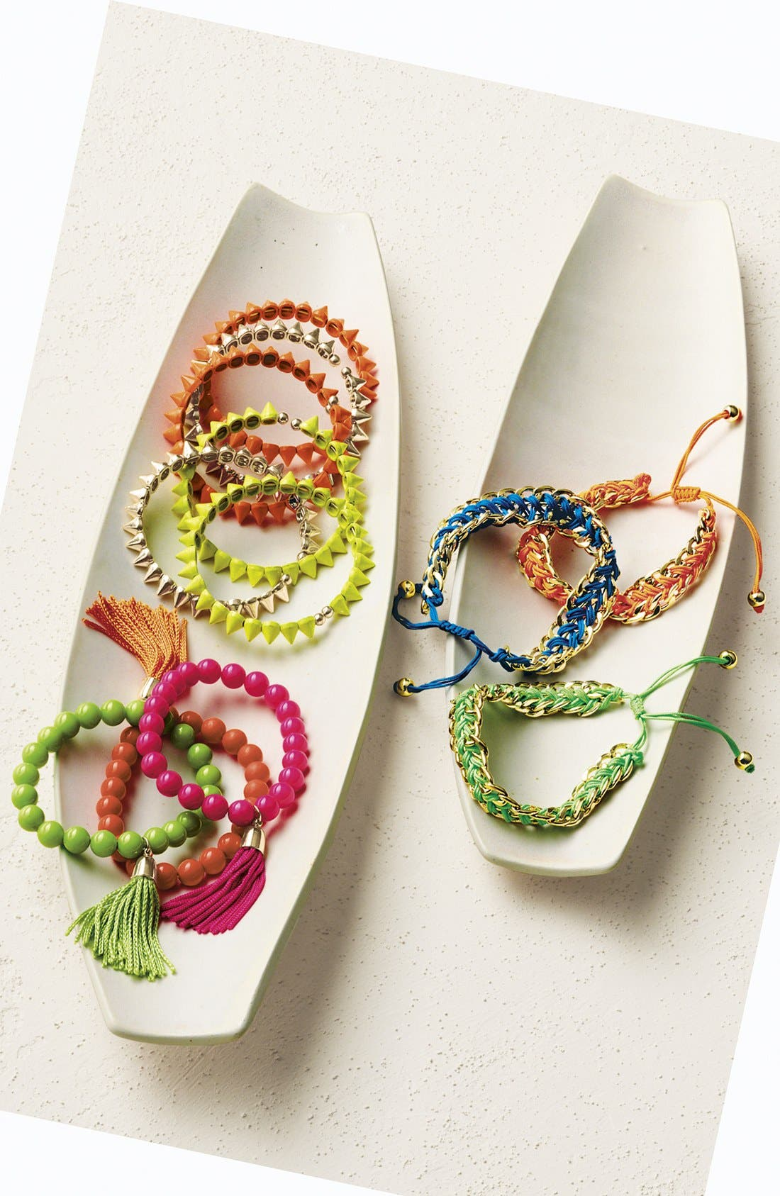 Alternate Image 3  - Tasha Beaded Stretch Bracelet