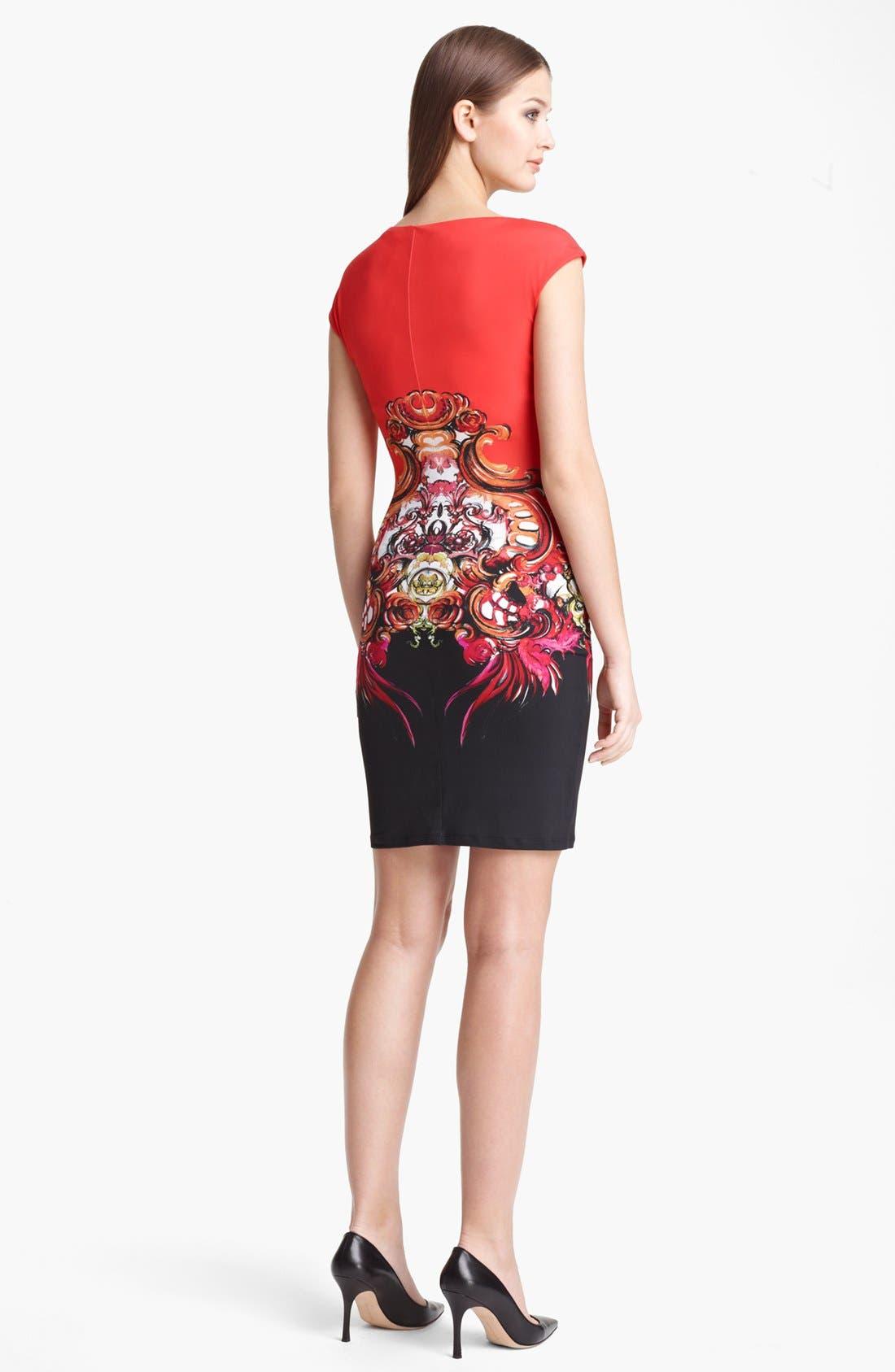 Alternate Image 2  - Roberto Cavalli 'Dafni Print' Dress