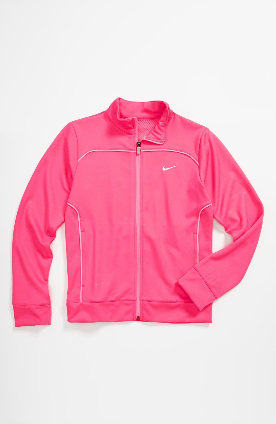 Main Image - Nike Dri-FIT Jacket (Big Girls)